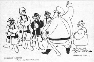 Caricatura de l'Esquella de la Torratxa